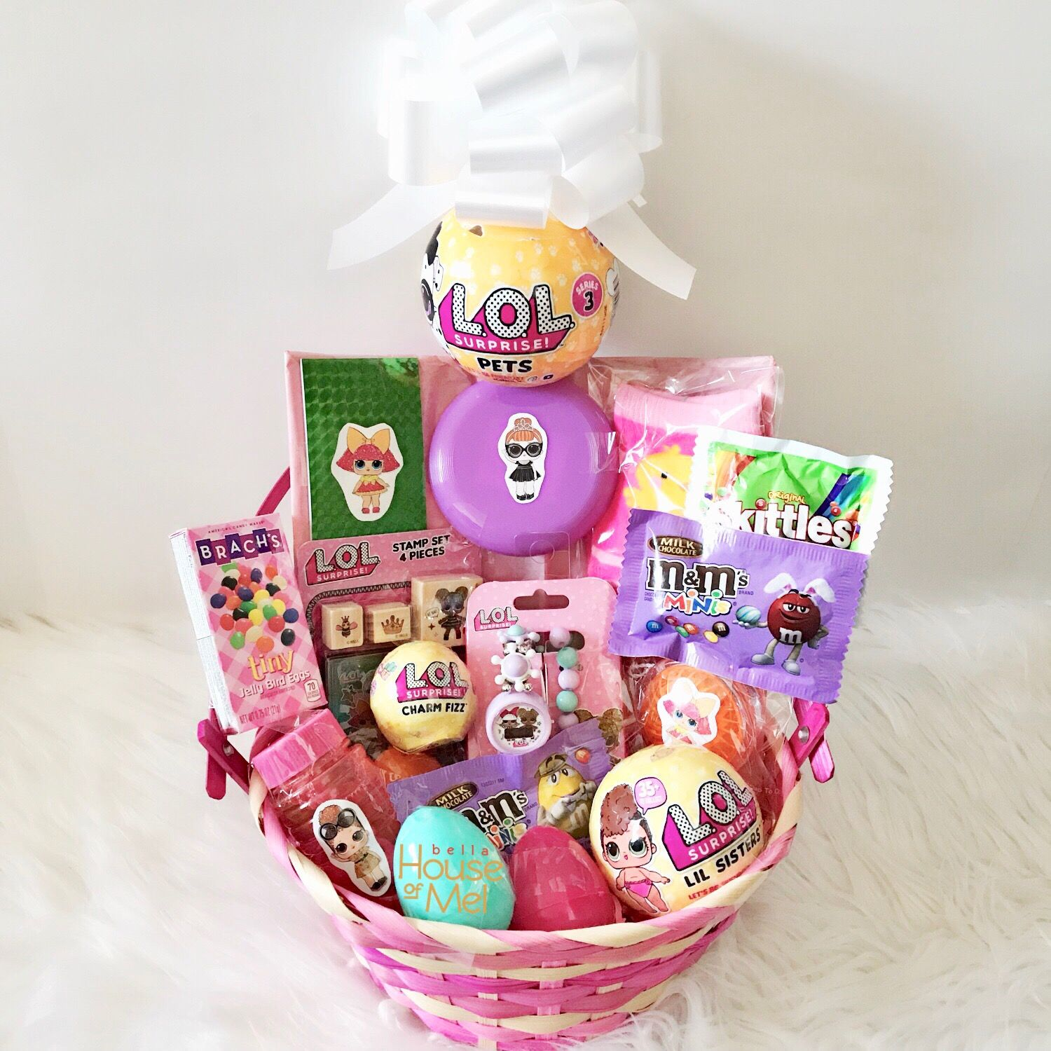 Lol surprise doll custom easter basket lolsurprise easter bella house of mel chic fab and cool stuff negle Choice Image