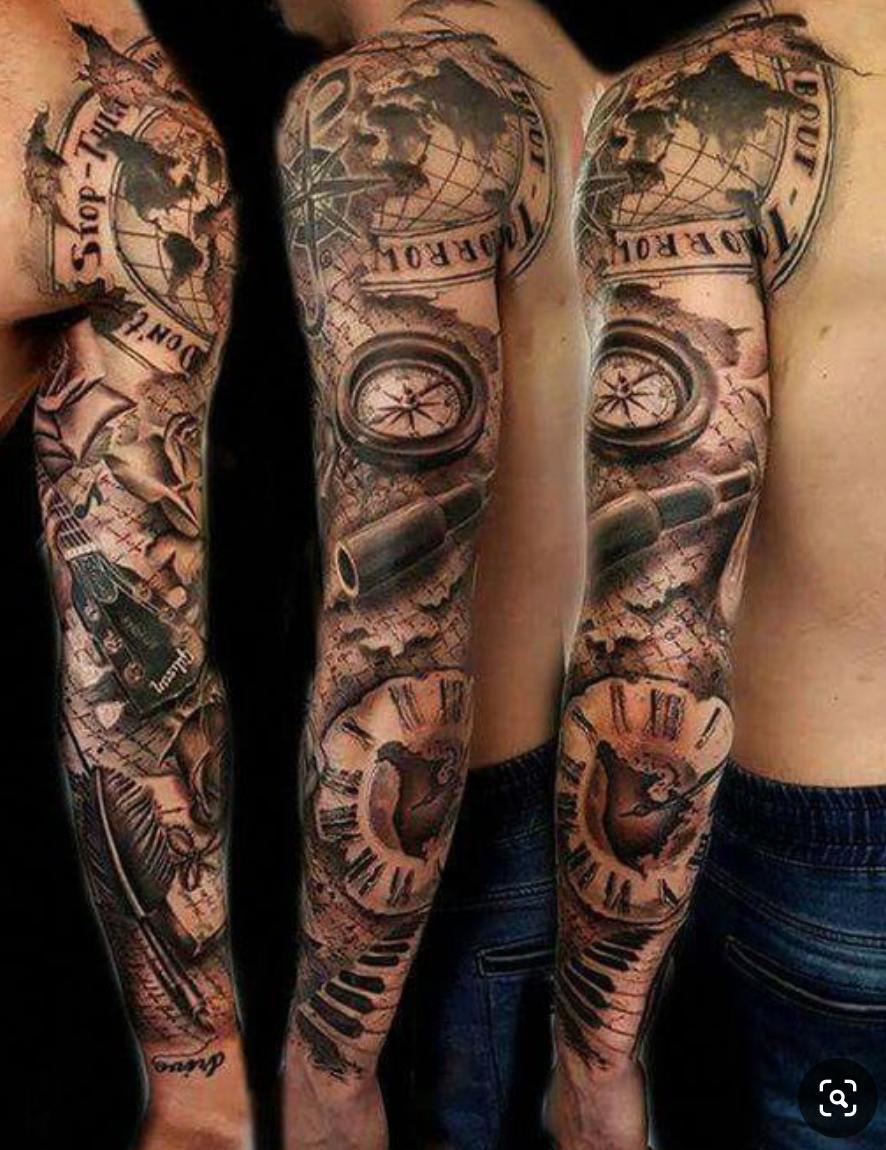 Pin von Gavin Bailey auf Tattoo Sleeve | Tattoo ideen