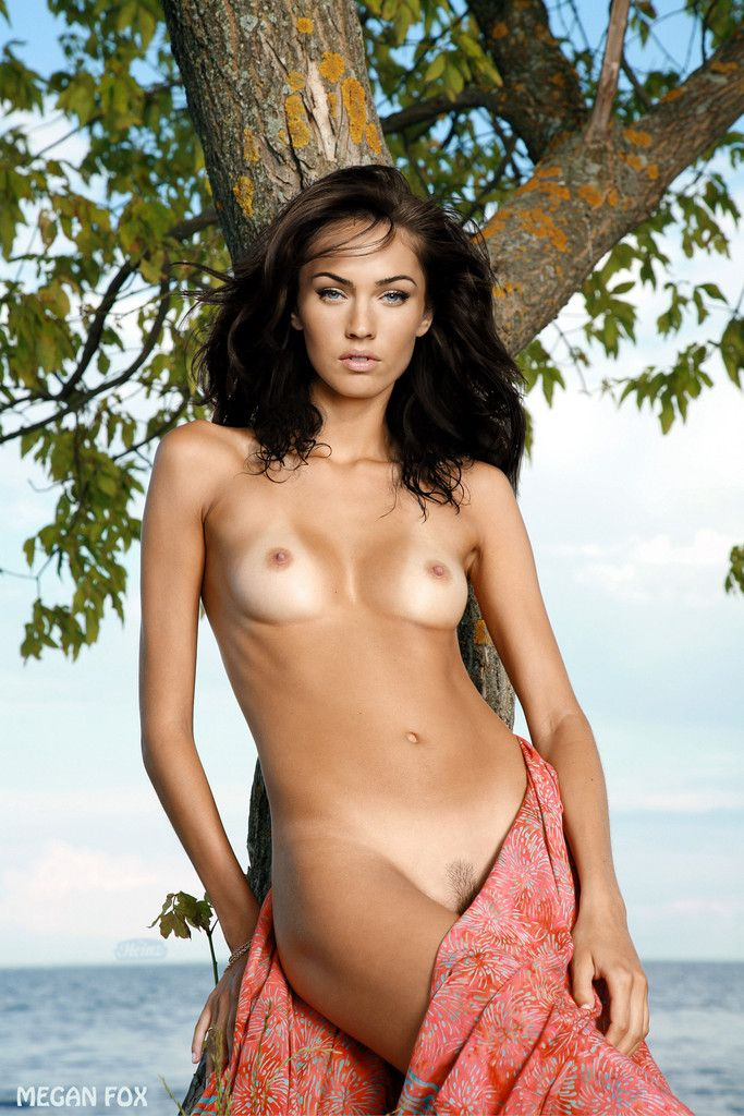 Nudes fake megan fox celebrity
