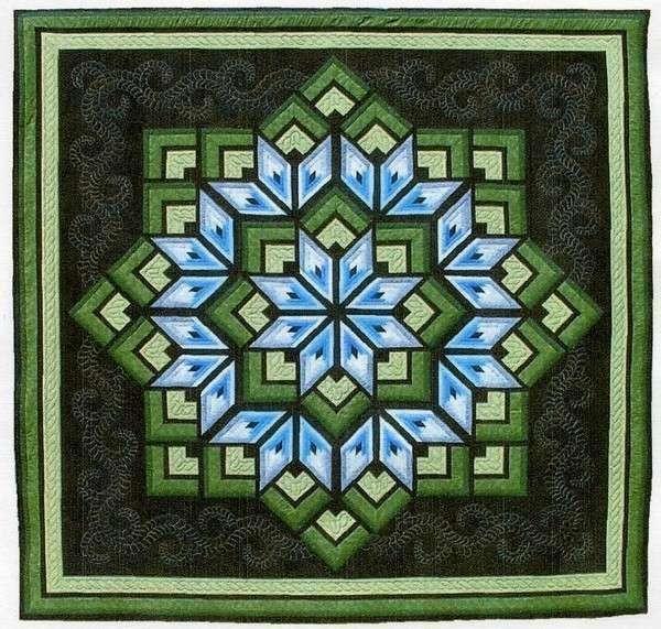 Starburst Star Pieced Dereck Lockwood Quilt Pattern | Patterns ... : lockwood quilts - Adamdwight.com