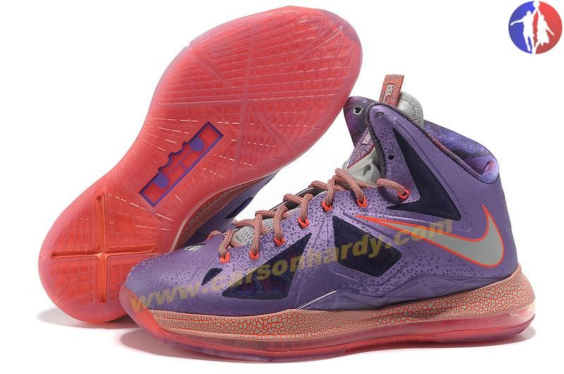 Womens Nike Lebron James Air Max 10 All-Star Shoes