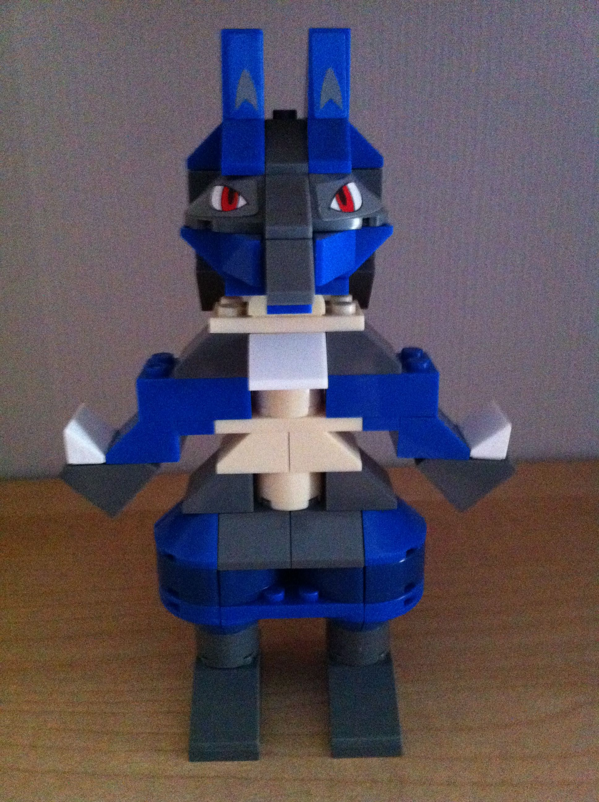 Pokemon mega bloks lucario legos mega bloks pinterest - Lego pokemon rayquaza ...