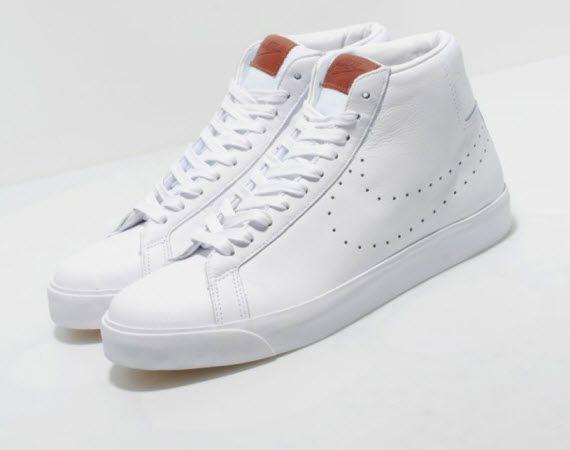 Nike Blazer Premium Leather - Pony Brown   White  c2eaa8d29a60