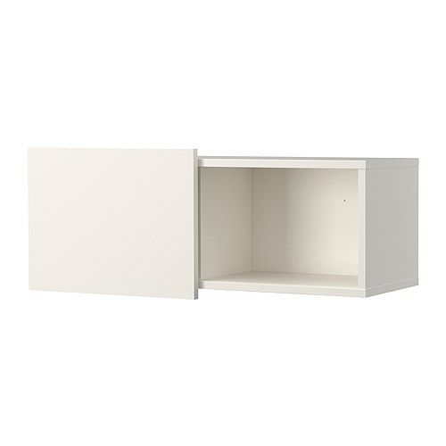 BRIMNES Wall cabinet with sliding door IKEA Wall mount above or beside the  bed to free