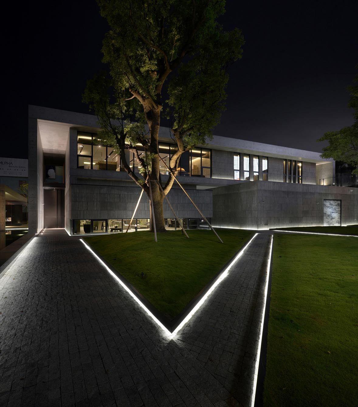 Incubation Reception Center Ching Chi Design Leo Construction Designing Department Xuxian Rui Architects Office Landscape Lighting Design Architecture Exterior Architecture