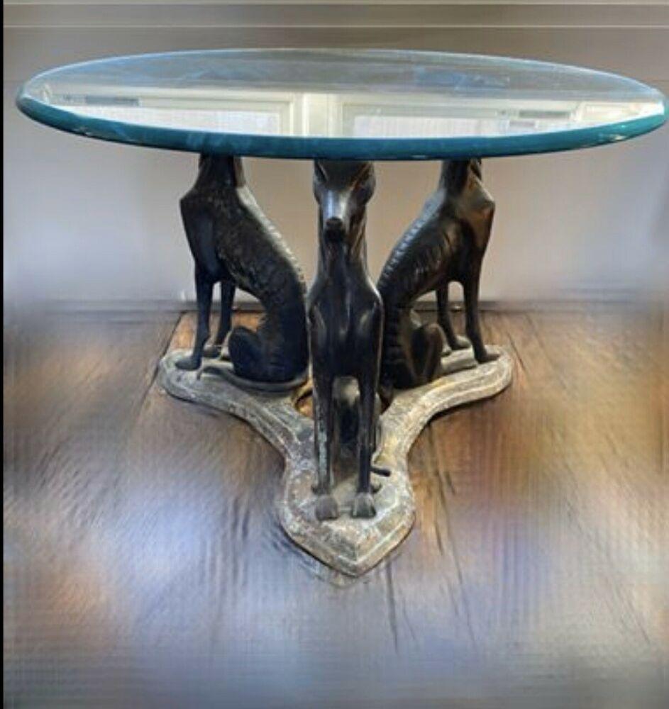 Vintage Bronze Dog Coffee Table2020 04 25t16 57 56 000z Dog Coffee Vintage Bronze Coffee Art [ 1000 x 943 Pixel ]