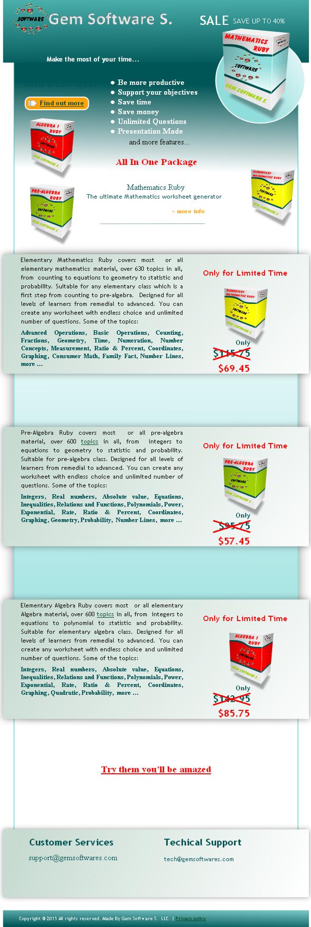 Mathematics worksheet generator Elementary mathematics Pre-algebra ...