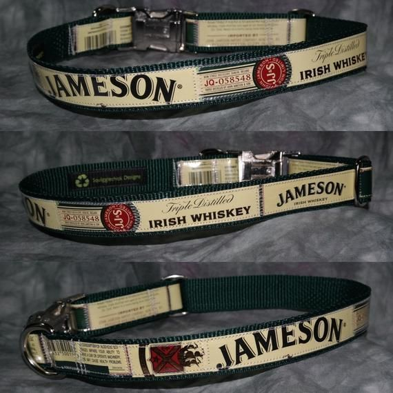 Large Adjustable Dog Collar from Recycled Jameson Irish Whiskey Labels #irishwhiskey Large Adjustable Dog Collar from Recycled Jameson Irish Whiskey Labels #irishwhiskey Large Adjustable Dog Collar from Recycled Jameson Irish Whiskey Labels #irishwhiskey Large Adjustable Dog Collar from Recycled Jameson Irish Whiskey Labels #irishwhiskey Large Adjustable Dog Collar from Recycled Jameson Irish Whiskey Labels #irishwhiskey Large Adjustable Dog Collar from Recycled Jameson Irish Whiskey Labels #iri #irishwhiskey