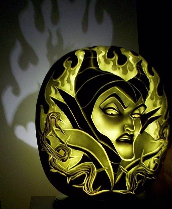Stunning Disney Villains Pumpkin Carvings Villainess