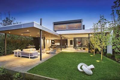 Casa moderna en brighton arquitectura casas for Casa moderna jardines