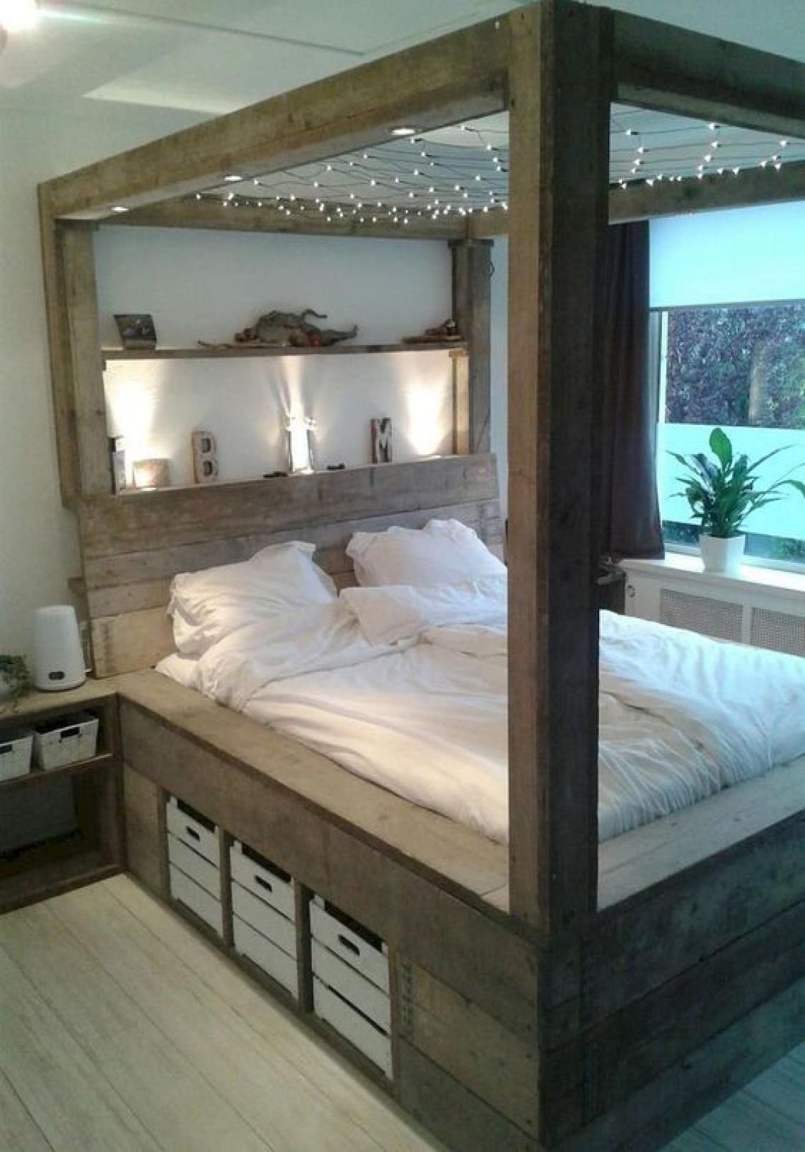 Elegant Romantic Bedrooms: 48 Elegant Modern Farmhouse Style Bedroom Decor Ideas In