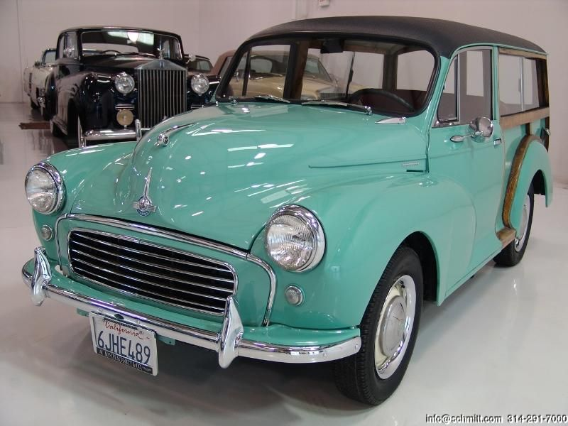 DANIEL SCHMITT & CO CLASSIC CAR GALLERY PRESENTS: 1961 MORRIS MINOR ...