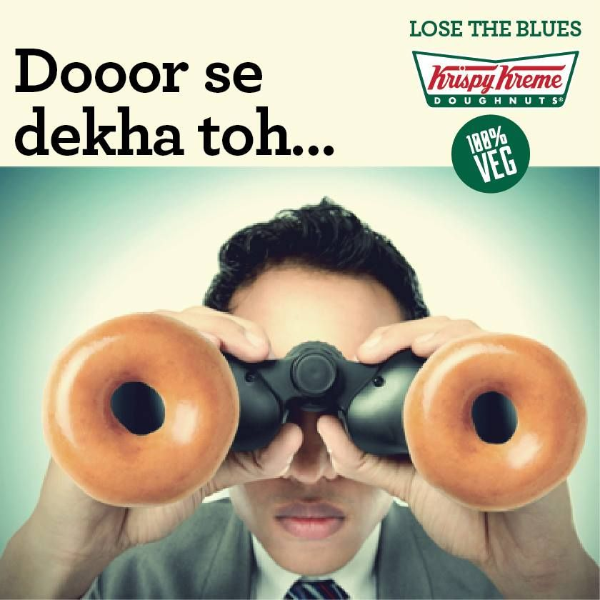 Who doesn't love 'dooor se dekha toh jokes'!  We certainly do, come tell us a joke at the counter today and we'll give you a free Original Glazed doughnut. #losetheblues