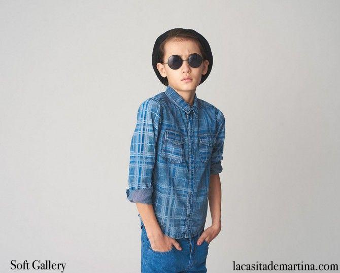 www.lacasitademartina.com #kids #niños #modainfantil #kidswear #fashionkids #kidsfashion #modaniños #moda #coolkids ♥ DENIM on DENIM ♥ Tendencias moda infantil Otoño Invierno 2015 : ♥ La casita de Martina ♥ Blog de Moda Infantil, Moda Bebé, Moda Premamá & Fashion Moms