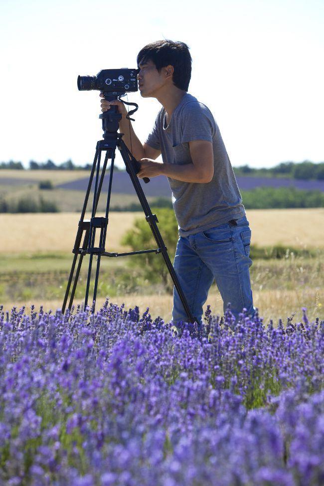 Mr. Oh  Immortalizes Lavender for L'Occitane