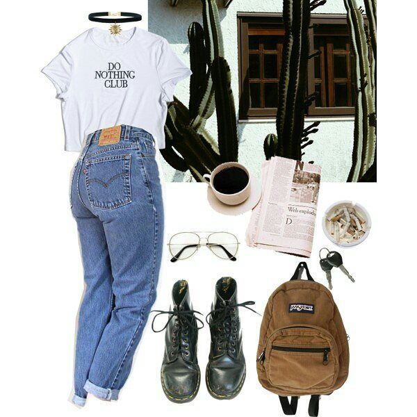 #grunge #outfit #urban #rock #punk #alternative #style -A #grungeoutfits