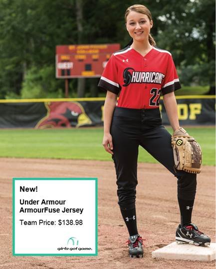 online retailer 12d8e 9c112 Start the #softball season is style with the NEW Under ...
