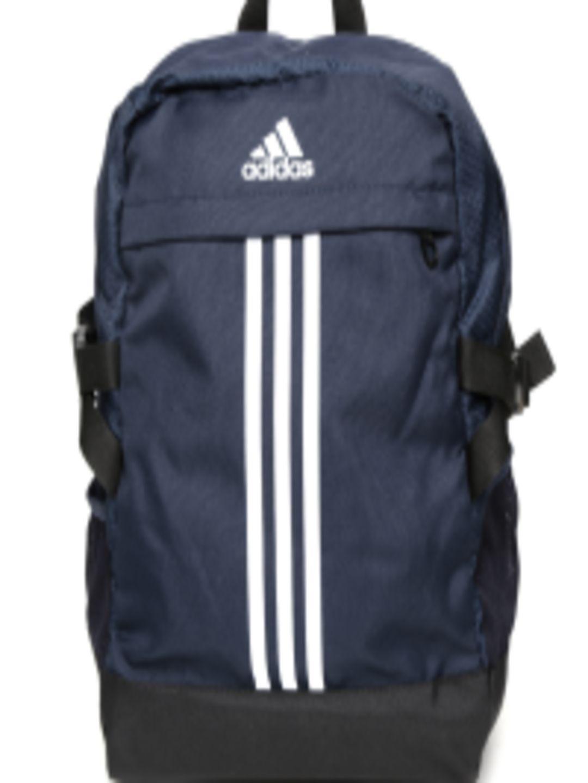 Buy Adidas Unisex Navy Power III M Striped Backpack - Backpacks for Unisex   6b69af6401cd5
