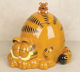Garfield Cookie Jar Garfield Cookie Jar  Collectables And Other Stuff For The Nerd In