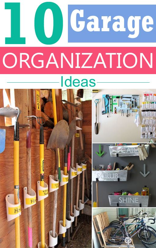 Bon With A Few Easy Storage Ideas And Brilliant Tips, You Can Keep The Garage  Clean And Organized.