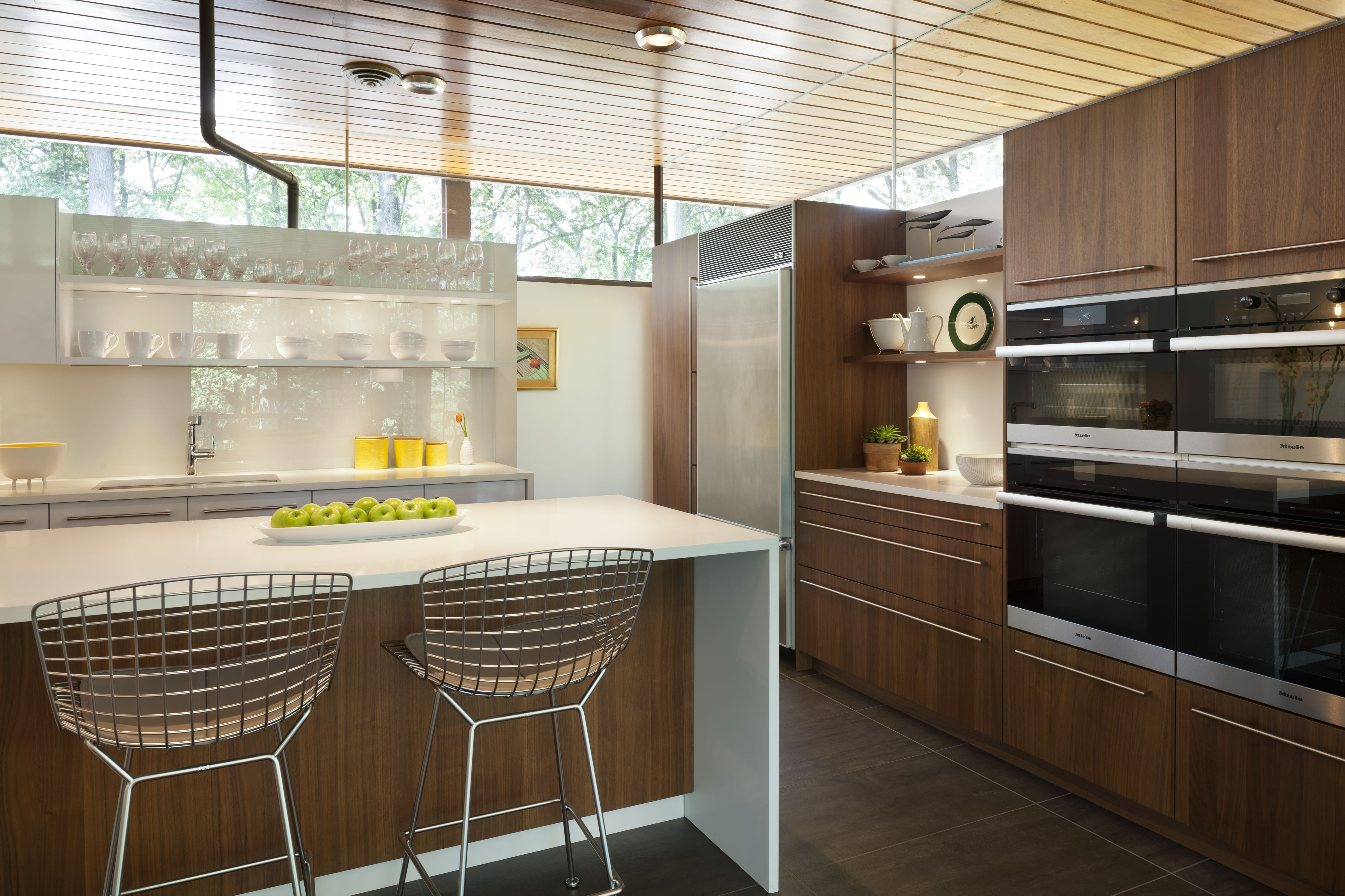 Code Modern kitchen remodel, Mid century modern kitchen