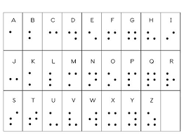 photo relating to Printable Braille Alphabet known as Impression outcome for braille alphabet printable Rynnie Roo