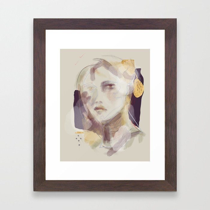 39 Winter Gold Framed Art Print FRAMED ART PRINT Best selection of collage, abstract, modern, nature, funny, pink, black and white, vintage pictures, hippie and trippy framed art prints for DIY aesthetic decor. Ideas for guys or girls design for campus living in the bedroom, living room or college dorm room. Horizontal, vertical, small, medium or extra large #dormroomdecor #artprint #wallart #collegedorm