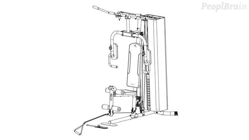 Comment monter l'appareil de musculation HG 60-4 de Domyos ?