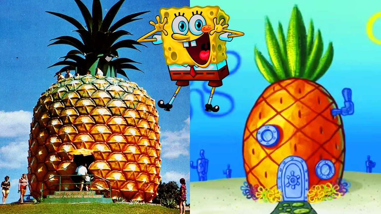 10 Cartoon Houses You Wont Believe EXIST in Real Life  things