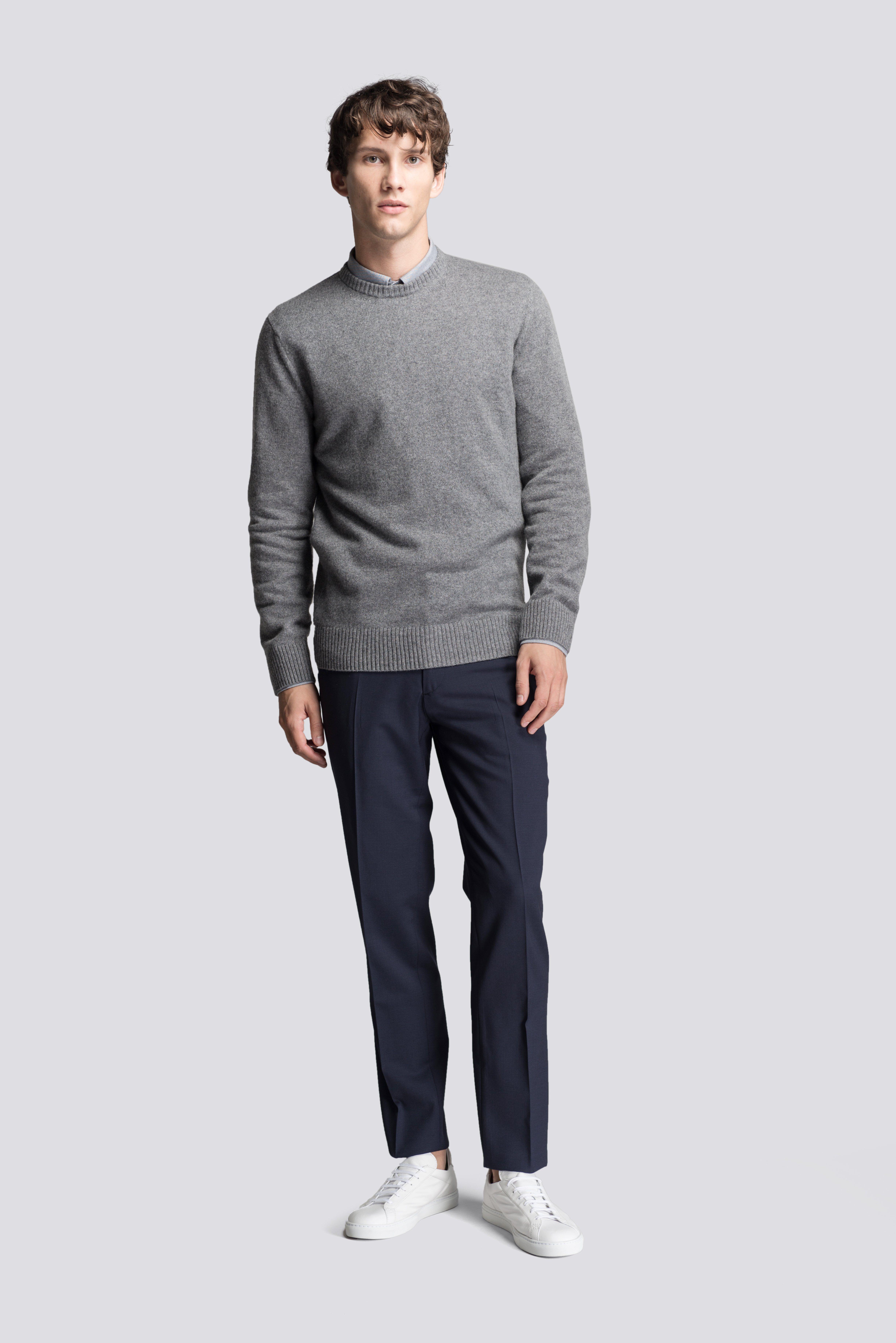 Dark Grey Cashmere sweater #asket | The ASKET Cashmere Sweater ...