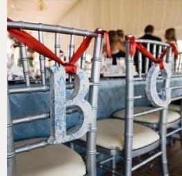 Bride & Groom Tiffany Chair