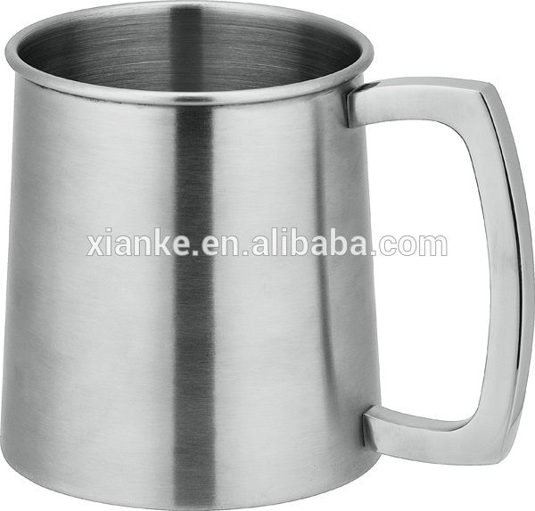 Premium Stainless Steel Beer Tankard Drinking Glass Cup With Handle , Find Complete Details about Premium Stainless Steel Beer Tankard Drinking Glass Cup With Handle,Drinking Glass Cup With Handle,Drinking Glass,Stainless Steel Beer Tankard from Cups & Saucers Supplier or Manufacturer-Xianke Metal Products Factory