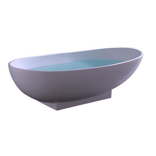 Resin Freestanding Tub 70 White Matte At Menards Modern Shower Home Decor Tub