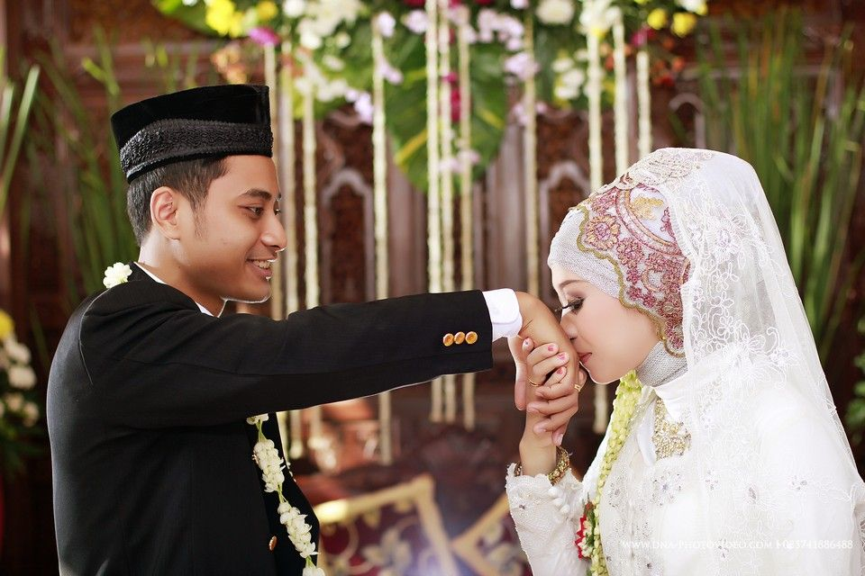 Syahdu Nya Foto Pernikahan Pasangan Manten Jawa Muslim Di Klaten Wedding Photography Cinematic Video Jogja Foto Perkawinan Pernikahan Fotografi Perkawinan