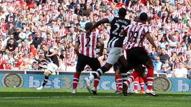 Sunderland 0 - 1 Newcastle