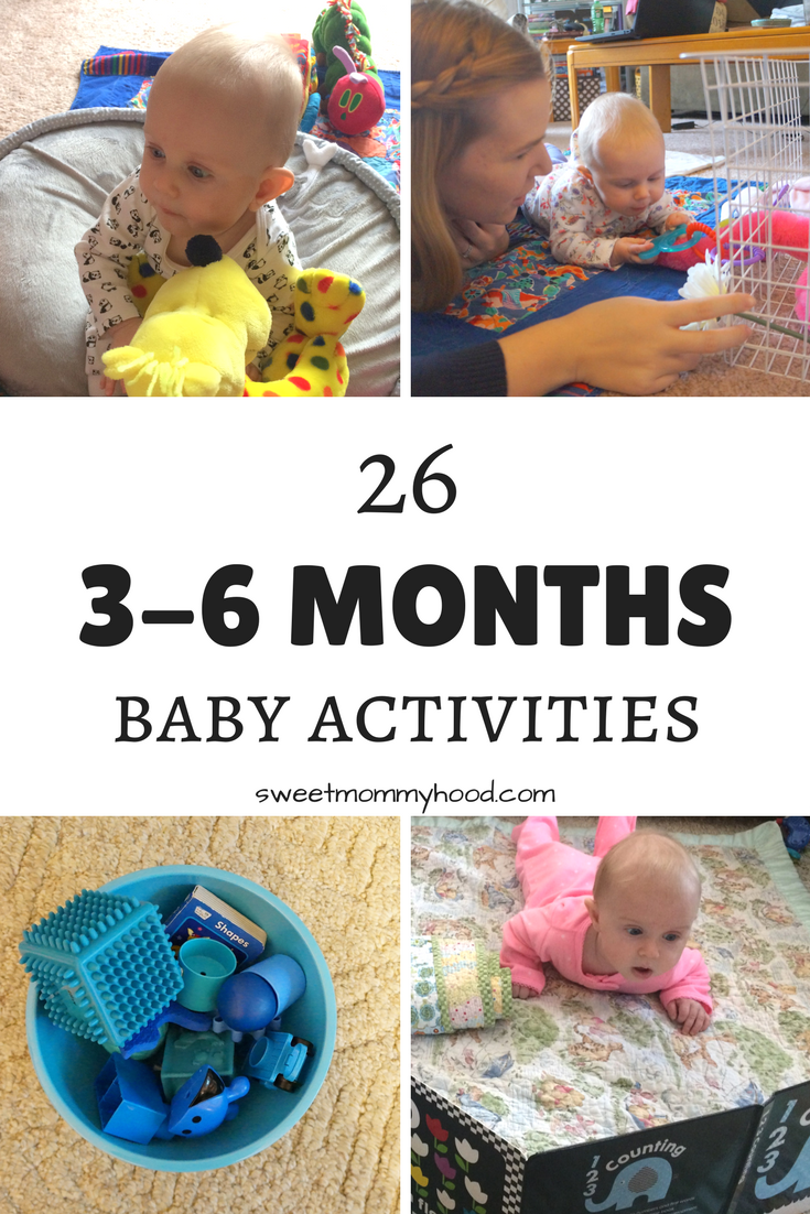 Baby Activities For 3 6 Months Lucas Infant Activities 6 Month