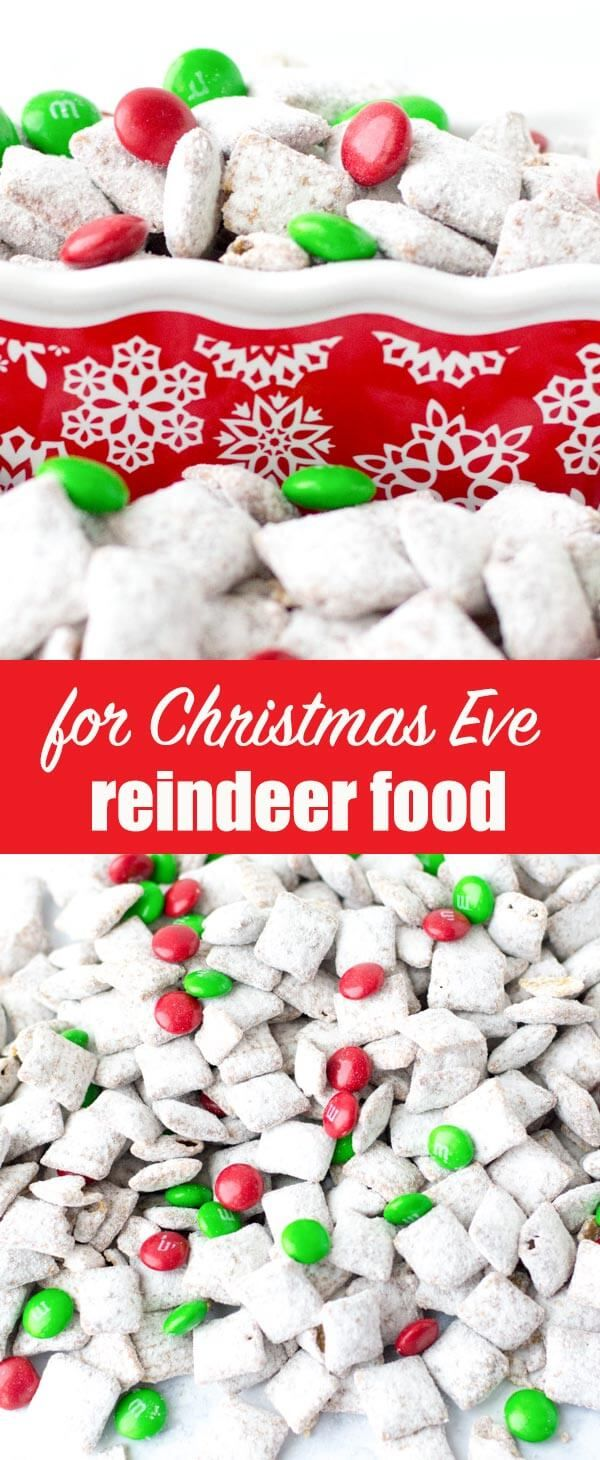 Make sure santa stops at your house by attracting reindeer this make sure santa stops at your house by attracting reindeer this reindeer chow recipe turns the classic muddy buddies puppy chow into a christmas t forumfinder Gallery