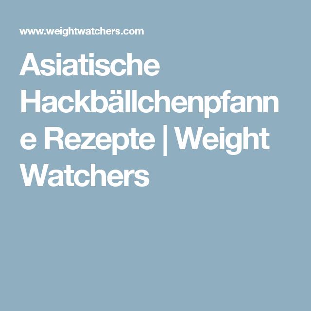 Rezepte weight watchers asiatisch