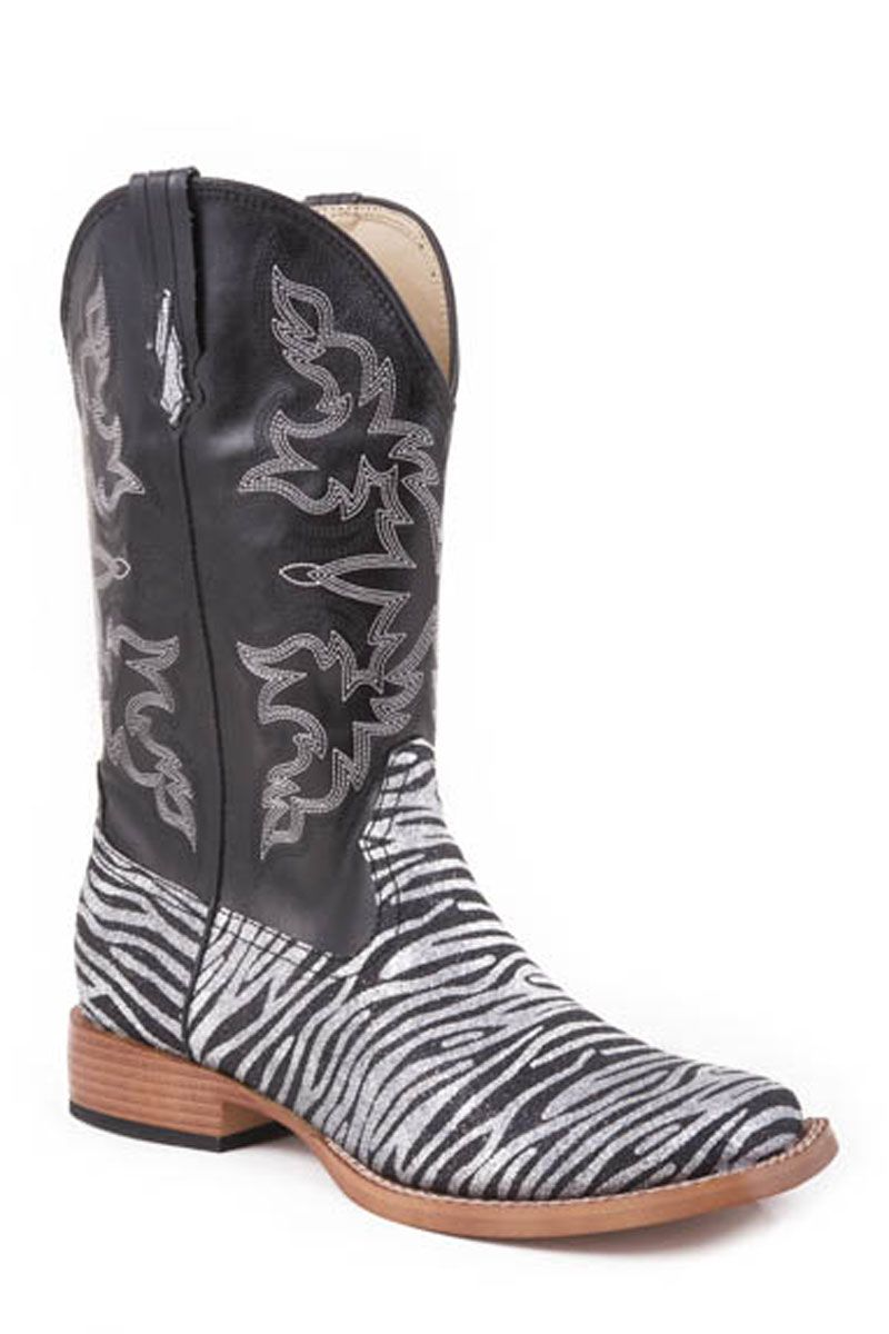 4da1b6763f9 Roper Women's Bling Zebra Print Cowgirl Boots ~ I have these and ...