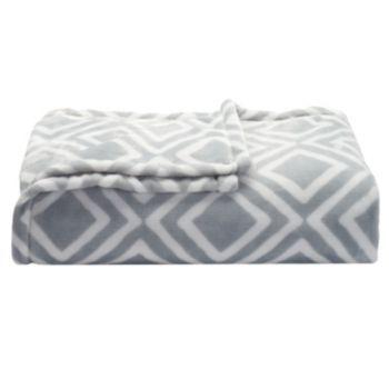 The Big One 174 Supersoft Plush Throw Plush Throw Soft Plush Memory Foam Mattress Topper
