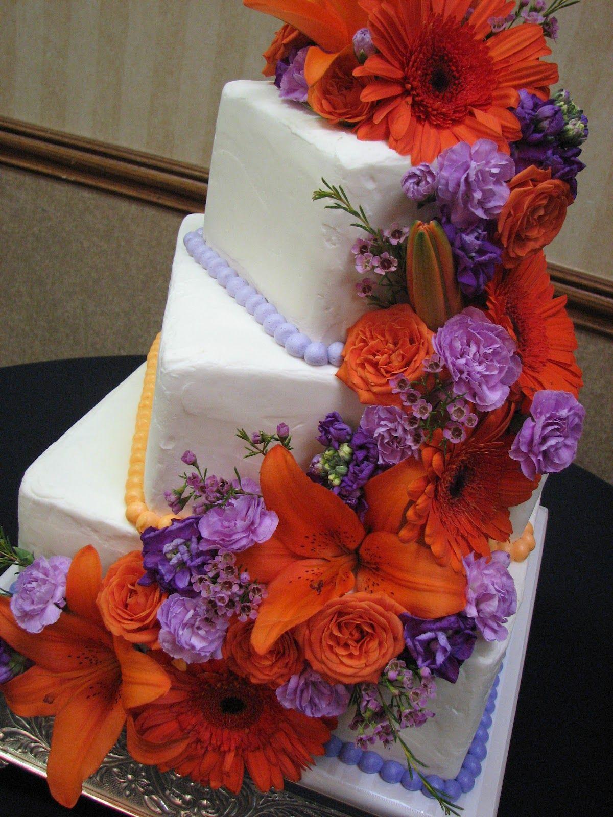 purple orange wedding theme | Decadent Designs | Kara | Pinterest ...