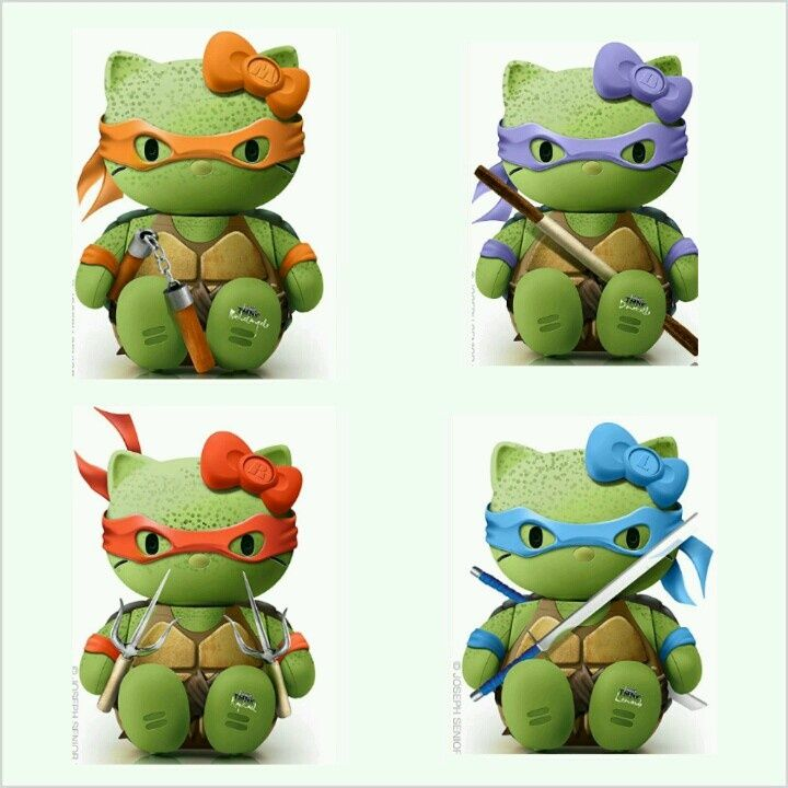 hello kitty ninja turtle - Google Search | Hello kitty wish list ...