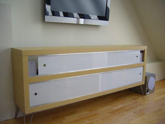 Credenza Ikea Immagini : Modern credenza ikea hack