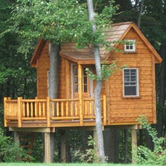 Pin By Stacy Sherman On Treehouses Tree House Plans Tree House Cool Tree Houses