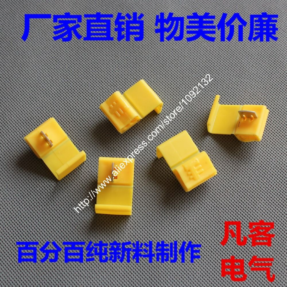 100 pcs Wire terminals quick 803p3 wiring connector cable clamp AWG ...