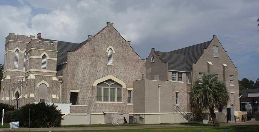 The First Presbyterian Church In Marianna Florida Had Its