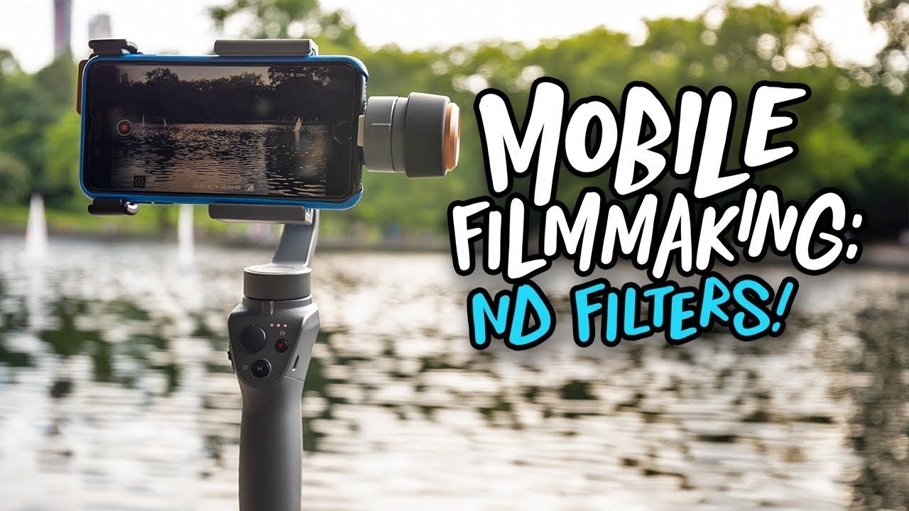 Nd Filters For Your Phone Taking Mobile Filmmaking To The Next Level Polarpro Captureperfection Iphone Pixel Filmmaking Filters Phone