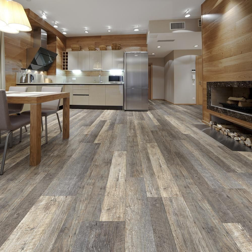 Plastic Flooring For Home: LifeProof Multi-Width X 47.6 In. Tekoa Oak Luxury Vinyl