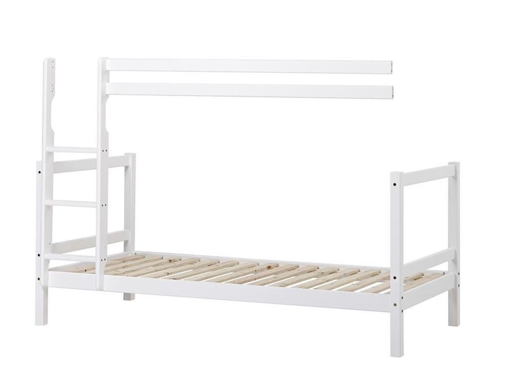 Etagenbett Kiefer Weiß : Massivholz etagenbett kiefer weiß nische teilbar