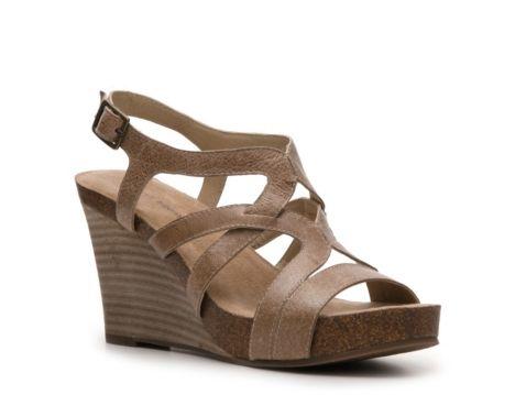 Audrey Brooke Grenada Wedge Sandal   Cute Shoes   Pinterest